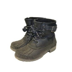 Kamik Evelyne Ankle High Combat Style Winter Boots